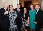 Melvin Stecher, Anna Garone, Vincent Garone, Lucia Tedesco, Margaret Carpenter, Norman Horowitz, Board Members of the Stecher and Horowitz Foundation