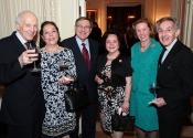 Melvin Stecher, Anna Garone, Vincent Garone, Lucia Tedesco, Margaret Carpenter, Norman Horowitz, Board Members of the Stecher and Horowitz Foundation