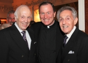 Melvin Stecher, Fr. Patrick Frawley, Norman Horowitz