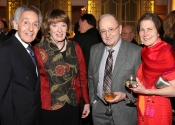 Norman Horowitz, Nancy and Joel Lehrer, Donna Peck