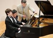 Aaron Kurz, Zhiye Lin, Dr. Francis Brancaleone