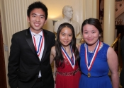Brian Le, Evelyn Mo, Prudence Poon