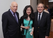Melvin Stecher, Angie Zhang, Dr. Vincent T. Garone