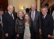 Melvin Stecher, Carol Schaefer, Shaefer granddaughter, Chuck Schaefer, Norman Horowitz