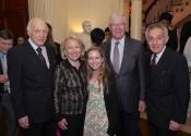 Melvin Stecher, Carol Schaefer, Shaefer granddaughter, Chuck Schaefer, Norman Horowitz