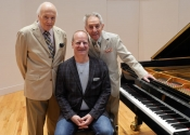 Melvin Stecher, Lowell Liebermann, Norman Horowitz