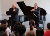 Melvin Stecher, Norman Horowitz