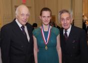 Melvin Stecher, Sophie Druml, Norman Horowitz