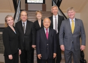 NYIPC Jury Orli Shaham, Jeffrey Swann, Jane Coop, Tong-Il Han, Erik Tawaststjerna, Ian Hobson