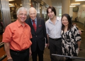 041 Mark Shapiro, Melvin Stecher, Oliver Markson and Judy Pang