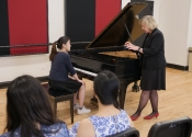 055 Janet Lopinski with Catherine Ma at a master class