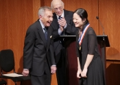 070 Yiying Niu, winner of the Best Performance of the Commissioned Work