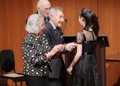 071 Joyce B Cowin presents the Joyce B Cowin First Prize to Youlan Ji