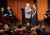 077 Robert Sherman interviews first prize winner Youlan Ji
