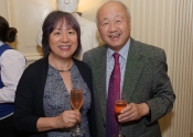081 Helen and Tong-Il Han at The Lotos Club closing reception