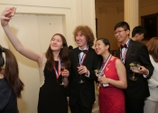 083 A selfie at the reception