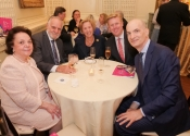090 Lucia Tedesco, Irv Puskin and board members Margaret Carpenter, Gus Rosendale & Evan Steen