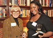 Laura Falb (S&H Foundation Board Member), Michelle Remy (85-96)