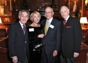 Norman Horowitz, Janet Tweed Gusman (S&H Foundation Board Member), Irwin Gusman, Melvin Stecher