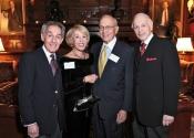 Norman Horowitz, Janet Tweed Gusman (S&H Foundation Board Member), Irwin Gusman, Melvin Stecher