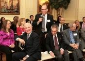 Lawrence Elish (62-67) speaking to Alumni