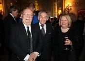 Dr. David S. Levitman, Norman Horowitz, Peggy Levitman