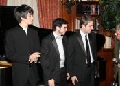 Charlie Albright, Michael Brown, Jonathan Coombs, Robert Sherman