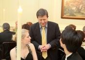 Leann Osterkamp, Dr. Francis Brancaleone, Charlie Albright