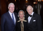 Charles V. Schaefer, III, Joyce Cowin, Melvin Stecher.jpg