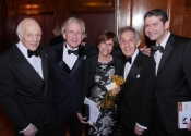 Melvin Stecher, Dr. Howard Hertz, Consuelo Hertz, Norman Horowitz, Dr. Jared Hertz.jpg
