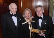 Melvin Stecher, Joyce Cowin, Norman Horowitz.jpg