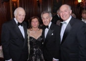 Melvin Stecher, Lisa Lazarus Robbins, Norman Horowitz, Arthur Robbins.jpg