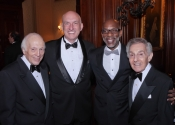 Melvin Stecher, President James Gandre, Dr. Boris Thomas, Norman Horowitz.jpg