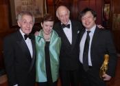 Norman Horowitz, Caroline Mousset, Melvin Stecher, Larry Weng.jpg