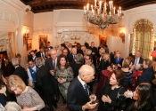 02 Reception in the Tennyson Room at The Lotos Club