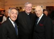 05 Norman Horowitz, Rev Jeffrey P von Arx, S.J., Melvin Stecher