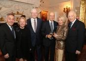 25 Norman Horowitz, Carol & Charles V Schaefer, III, Gus & Janet Gusman, Melvin Stecher