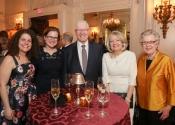 34 Allison Hauser, Elizabeth Caudle, Charles V Schaefer, III, Gail Job, Diana Kalman