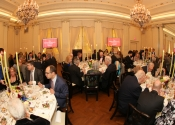 47 Dinner in the ballroom at The Lotos Club