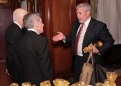 Melvin Stecher, Norman Horowitz, Mark Rudd