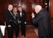 Melvin Stecher, Joyce Cowin, Norman Horowitz, Bill Cunningham