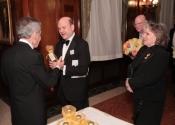 Norman Horowitz, , Rabbi David Posner, Sylvia Posner