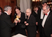 Norman Horowitz, Jacqueline Aronson, Gretchen Stone, Lewis Stone