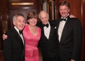 Norman Horowitz, Joan Hearst, Melvin Stecher, William S. Hearst