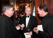 Rev. Jeffrey von Arx, John McGrath, Rev. Patrick Frawley