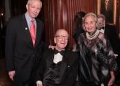Sam Beard, Sen. Roy Goodman, Joyce Cowin