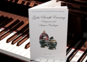 Program Book On The Keys Of A Steinway Piano
