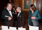 Dr. Harvey Fishman, Norman Horowitz, Joanne McGrath