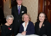 Frances A. Hess, Rabbi David M. Posner, Sylvia Posner, Teela Lelyveld